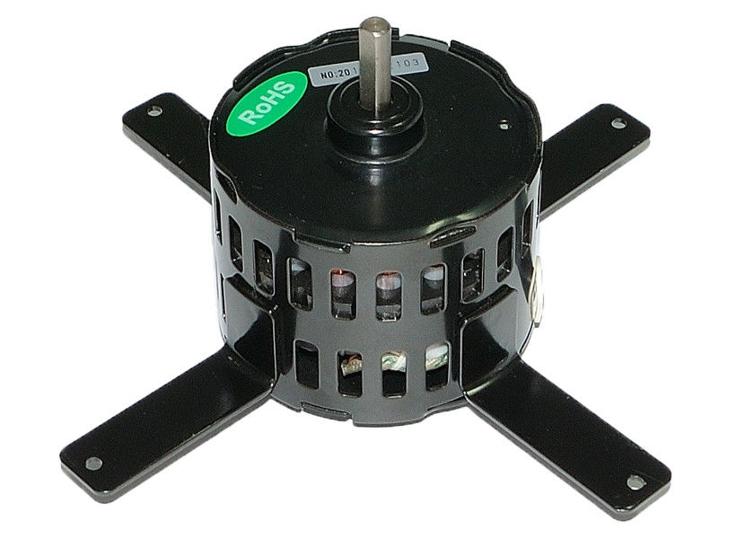 Single Phase Capacitor Motor , Mini Fan Motor 3.3 Inch for Ventilation